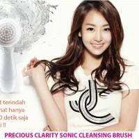 Jual PRECIOUS CLARITY SONIC CLEANSING BRUSH + FREE 1 konjac Murah