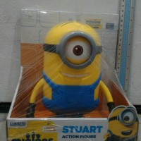 harga Minions Stuart ThinkWay Toys Action Figure A Movie Exclusive Original Tokopedia.com