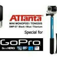 Tongsis titanium anti karat Attanta GoPro DSLR SJ4000 5000+ bagus baru