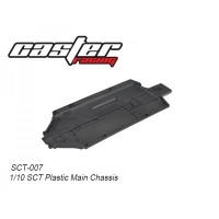 SCT-007 Rc Car Caster Racing 1/10 PLASTIC MAIN CHASSIS SCT10
