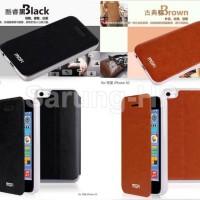Mofi Core Leather Case Flip Cover Iphone 5C