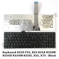 Keyboard Laptop ASUS F55, K55 K55A K55DR K55VD K55VM K55XI, X55, X75