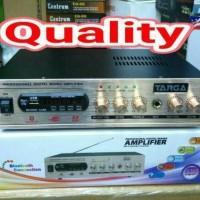 power amplifier digital mixing targa usb sd radio dan bluetooh karaoke