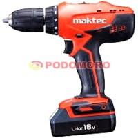 MAKTEC MT071E / MT 071 E / Mesin Bor Cordless / Cordless Drill 18V