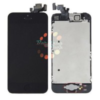 Original OEM LCD Display Black Touch Screen+Camera+Button iPhone 5