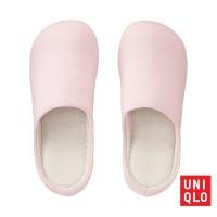SANDAL RUMAH Wanita UNIQLO Room Shoes Sweat Women 163016 Pink 10