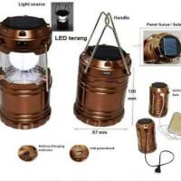 Jual lentera solar cell 8 led / lampu lentera / lampu camping Baru |