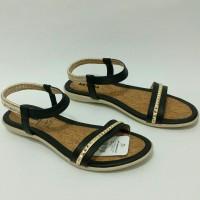 Sandal Wanita NEVADA KJ01.HT_ORIGINAL, Sepatu Sandal Flat, Sandal Brande