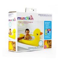 harga MUNCHKIN - BAK MANDI BAYI BEBEK / INFLATABLE SAFETY DUCK BABY BATH TUB Tokopedia.com