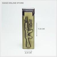 harga Korek Gas Model Senapan Laras Panjang Ak-47, Pistol, Api, Unik, Murah Tokopedia.com