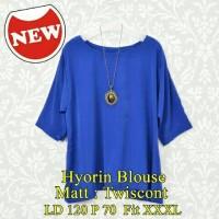 Hyorin Blouse/atasan/fashion/promo/baju simpel/baju polos