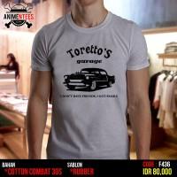 Jual Kaos Fast Furous Toretto's Garage (F-436) Murah