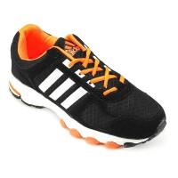 Sepatu Running Sport Casual Adidas Adidas Marathon XT Black Orange