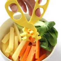 Gunting Serbaguna Untuk Memotong Buah, Sayuran Dan Makanan Bayi