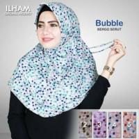 Jual Kerudung Serut Buble Baru   Hijab / Jilbab Syari Modern Online