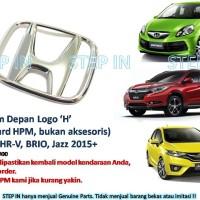 Logo Emblem H Depan Honda HR-V, Brio, Jazz 2015 Genuine Part Asli Baru