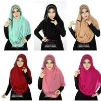 Pashmina Instant Pastan Athalia Diamond Kerudung Pasmina Instan Hijab
