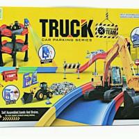 truck car parking series