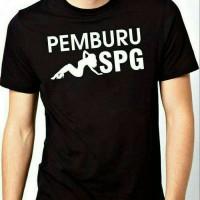 Kaos BIG SIZE PEMBURU SPG / Tshirt BIG SIZE XXXL-XXXXL