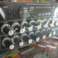 TONE CONTROL MP3 DIGITAL KARAOKE SOUND SYSTEM SUBWOOFER PLATINUM
