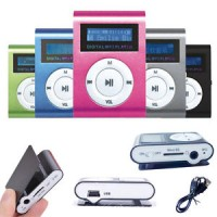 Slim Mp3 Player Lcd Screen   Mp3 Player Jepit Lcd