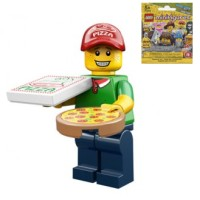 Pizza Delivery Guy (sealed) Lego 71007 Minifigure Series 12 no 11