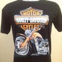 harga Kaos Motor Harley Davidson 3D Murah Keren O-2 Tokopedia.com