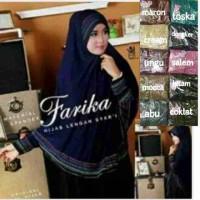harga jilbab lengan farika Tokopedia.com