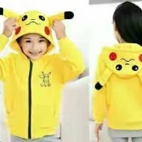 Jaket Pokemon Pikacu / Pikachu Anak Laki-laki, Perempuan
