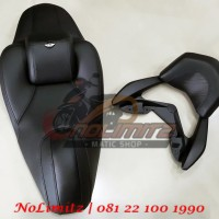 Jok Thailand MBTech Touring + Behel Senderan Jok Belakang Yamaha NMAX