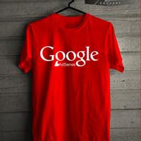 Kaos/T-shirt Google Adsense With Logo Simple NEW