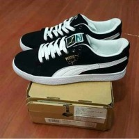 Puma Clyde Classic Suede Premium Original( Sepatu cowok sepatu sekolah