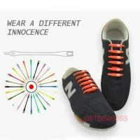 hickies v-tie shoelaces - tali sepatu silikon colour / lazy shoe