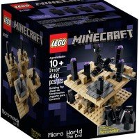 LEGO - MICRO WORLD - THE END / Minecraft / Hobi / Koleksi / Mainan