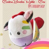 Mainan Bayi Anak Rattle Stick Toet Carter Cow