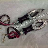 harga Lampu Sein LED Universal untuk Semua Motor (OZ/LS-003) Tokopedia.com