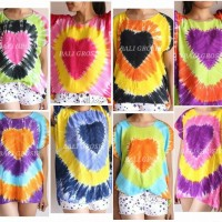Jual Baju Kaos Pelangi Bali / Kaos Bali Murah