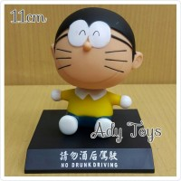 Pajangan Mobil Nobita Doraemon Dora Cat Bobble Head Action Figure 14