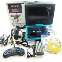 Portable TV / DVD Player Fleco 3D
