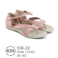 Sandal Flat Wanita Branded Distro Azzura / Sendal Casual Santai Wanita