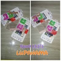 tempered glass warna Neo9 A37 tempered glass collor Neo9 A37