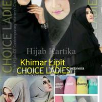 Khimar Lipit Free Bross, Khimar Instan Lipit, Khimar Lipit Ver BJD3