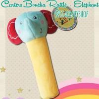 Mainan Bayi Anak Rattle Stick Toet Carter Elephants