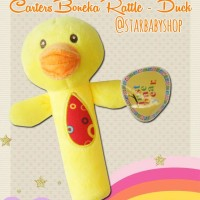 Mainan Bayi Anak Rattle Stick Toet Carter Duck