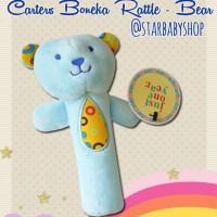 Mainan Bayi Anak Rattle Stick Toet Carter Blue Bear
