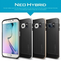 Jual Neo Hybrid SGP Spigen Case Samsung Galaxy S6 Edge New Casing Aksesoris Murah