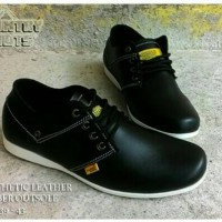 sepatu country boots black