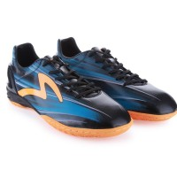 Sepatu Futsal Specs Original Accelerator Lazer In (Black/Blue/Orange)