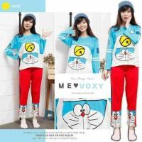 Baju Tidur/piyama Doraemon