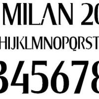 FONT AC MILAN 2009